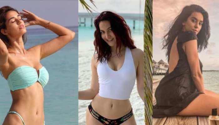bollywood divas like disha patni and tara sutaria enjoying vacation in maldives