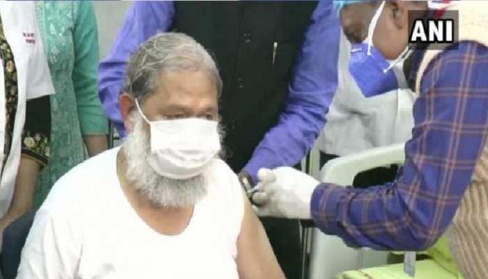 Haryana: स्वास्थ्य मंत्री Anil Vij ने खुद पर कराया Covaxin का ट्रायल