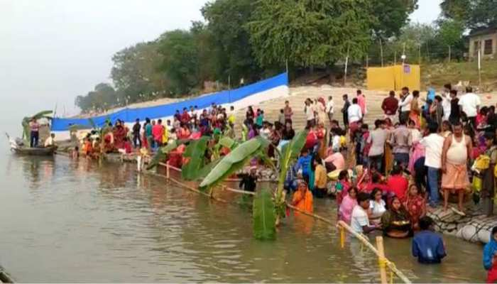 Chhath puja celebrated today in bihar and in other places