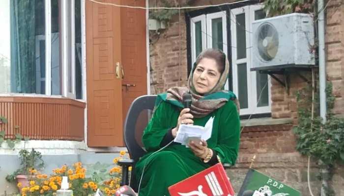 क्या Mehbooba Mufti नहीं चाहतीं कश्मीर में हो शांतिपूर्ण चुनाव? पुलिस पर उठाए सवाल