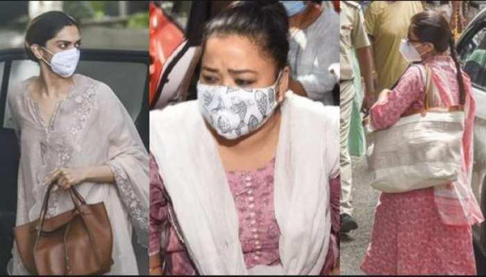 all actress from deepika padukone to bharti singh choose salwar suit as dress code at NCB office