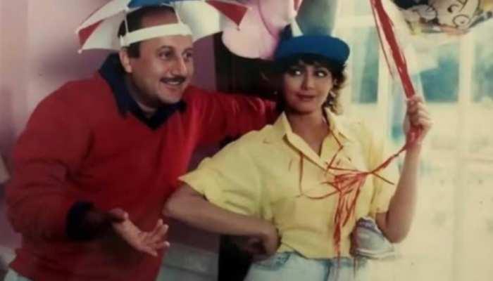 Anupam Kher ने श्रीदेवी की फिल्म 'लम्हे' की शूटिंग को किया याद, भावुक होकर कही ये बात