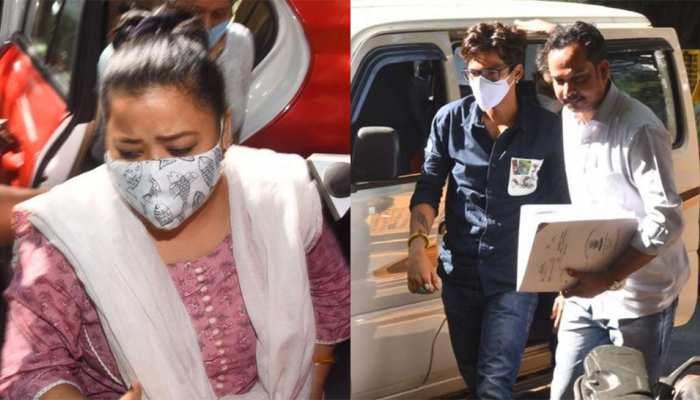 भारती सिंह और उनके पति हर्ष लिम्बाचिया को ड्रग्स मामले में मिली ज़मानत