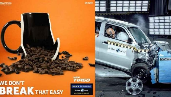 S Presso, WagonR के क्रैश में फेल होने पर Tata Motors ने सोशल मीडिया पर ली चुटकी