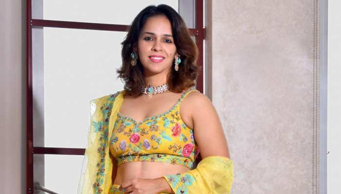 Saina Nehwal Ethnic look on Wedding Season sensation on Social Media