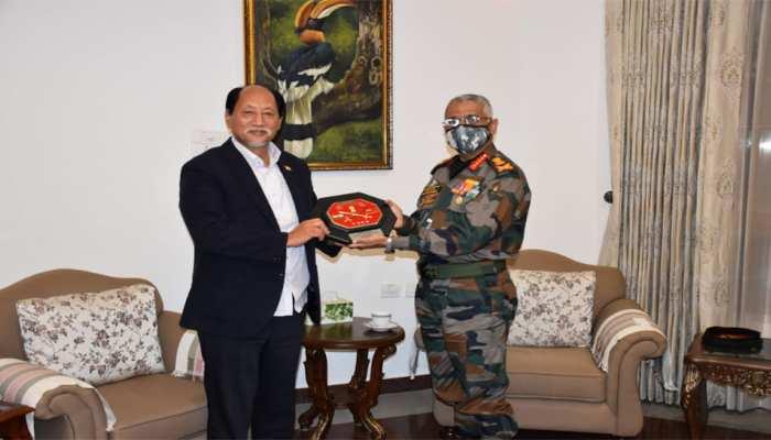 सेना प्रमुख जनरल Manoj Mukund Narwane पहुंचे Nagaland, इस सैन्य रणनीति पर की चर्चा