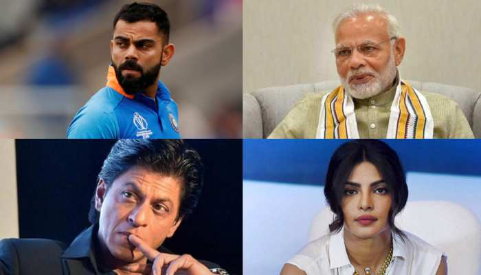 Most famous Indian personalities across social media watch photos