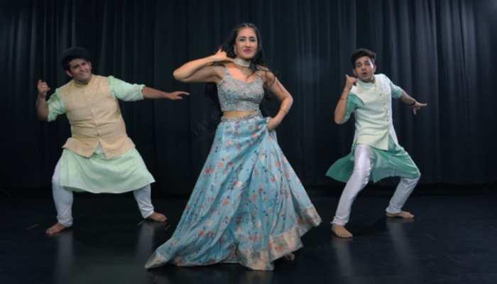 Dhanashree Verma ने Ranbir Kapoor के इस गाने पर लगाए ठुमके, देखें VIDEO