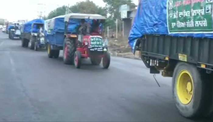Farmers Protest के कारण लोगों को भारी परेशानी, Truck ड्राइवरों को नहीं मिल रहा खाना