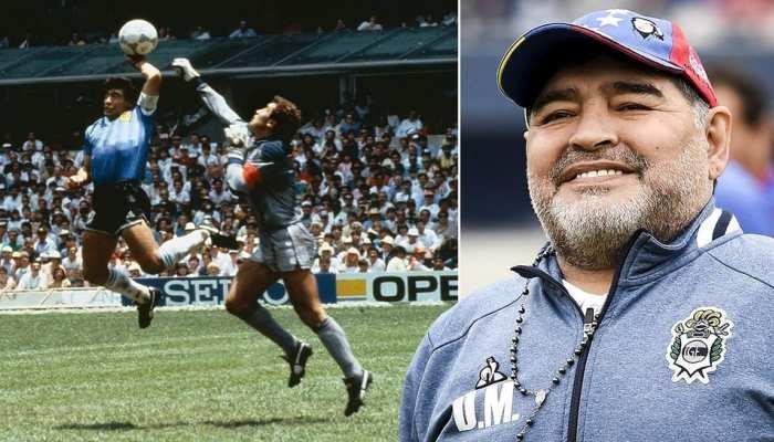 most controversial football legend diego maradona