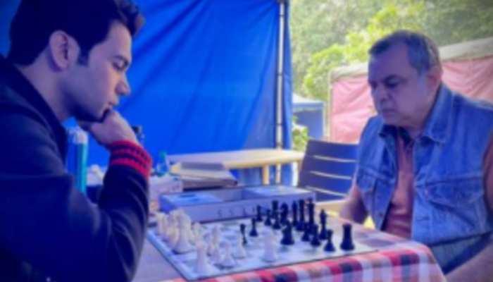 जब Raj Kummar Rao और Paresh Rawal बन गए शतरंज के खिलाड़ी, कौन जीतेगा खेल?