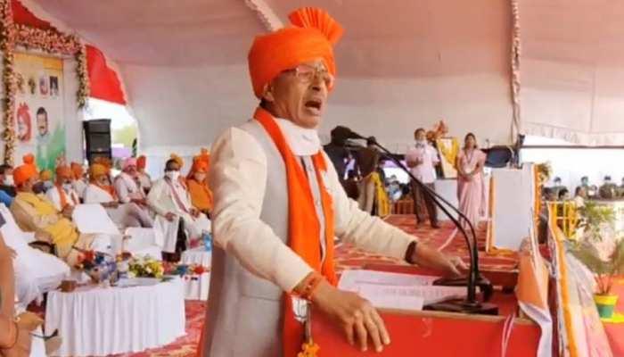जनजाति गौरव सम्मान समारोह में CM शिवराज ने दी 300 करोड़ की सौगात, लव जिहाद पर जमकर बरसे