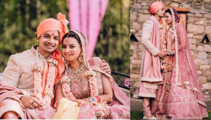 Priyanshu Painyuli tied knot with girlfriend Vandana Joshi see viral photos