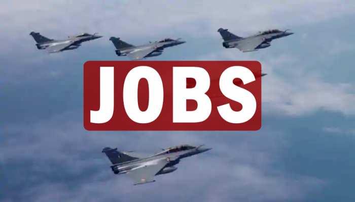 JOBS IN Indian Airforce: एयरफोर्स में नौकरी का शानदार मौका, आज है आखिरी तारीख