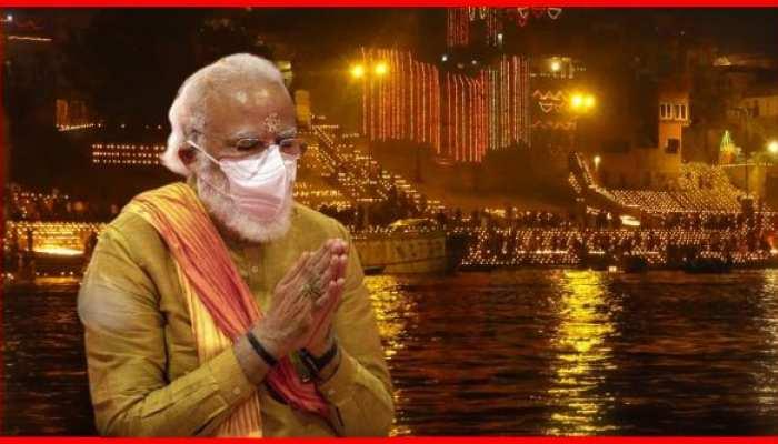 प्रधानमंत्री नरेंद्र मोदी गंगा की गोद से देखेंगे लेजर शो