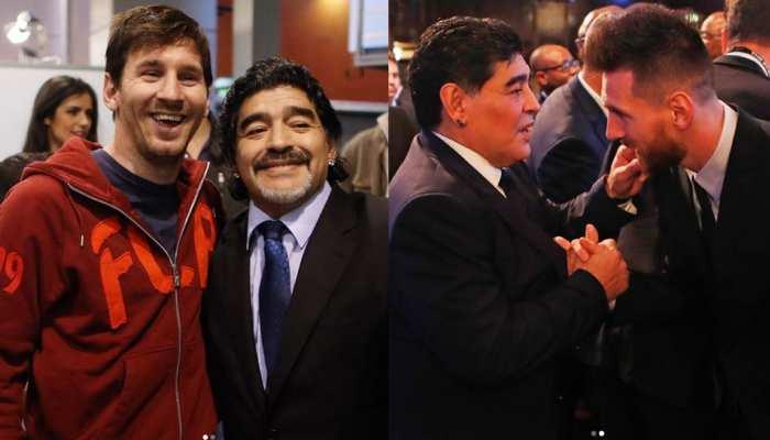Lionel Messi ने इस खास अंदाज में दी Diego Maradona का श्रद्धांजलि, देखें PHOTO
