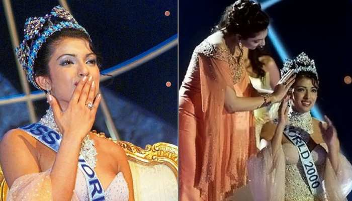 Today 20 years back Priyanka Chopra was crowned Miss World 2000