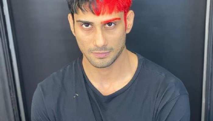 Prateik Babbar अपने नए लुक से दे रहे खास मैसेज, आधे बालों को कराया RED