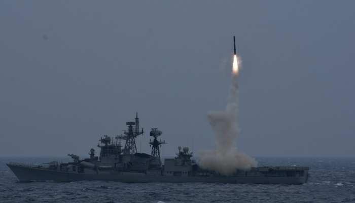 Indian Navy की ताकत बढ़ी, एंटी शिप मिसाइल Brahmos का सफल परीक्षण