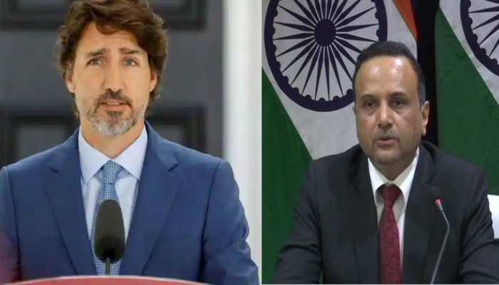 किसान आंदोलन: कनाडा के PM के बयान पर भारत ने लगाई फटकार, कहा- ऐसी बयानबाजी गैरजरूरी