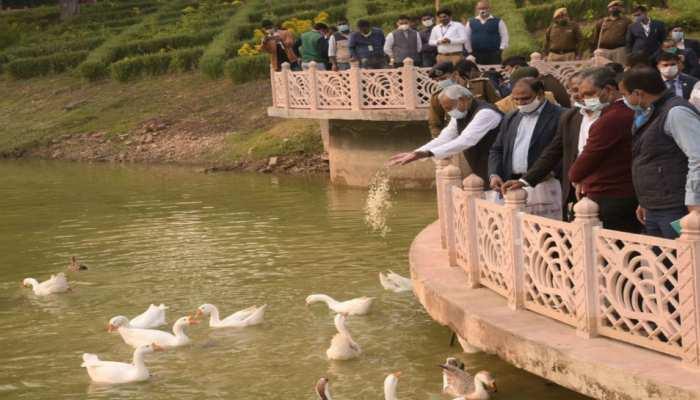 राजगीर में सीएम नीतीश ने कहा- हर हाल में फरवरी तक बन जाएगा यहां नया रोपवे
