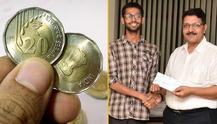 जानिए 20 रुपये के सिक्के की खासियत और डिज़ाइन करने वाले इस नौजवान के बारे में