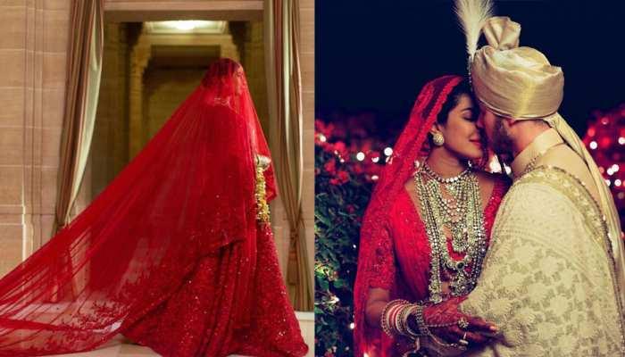 Priyanka Chopra and Nick Jonas marriage anniversary PC share some Unseen Photos of Wedding
