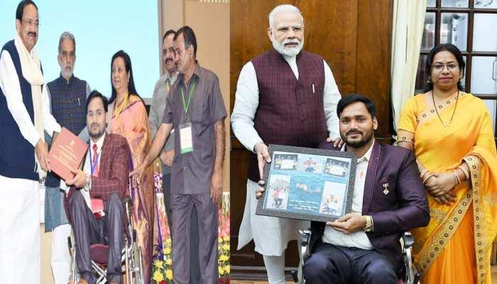 विश्व दिव्यांग दिवसः मेहनत और हुनर से रचा इतिहास, सीएम, पीएम भी हैं सत्येंद्र सिंह लोहिया के मुरीद