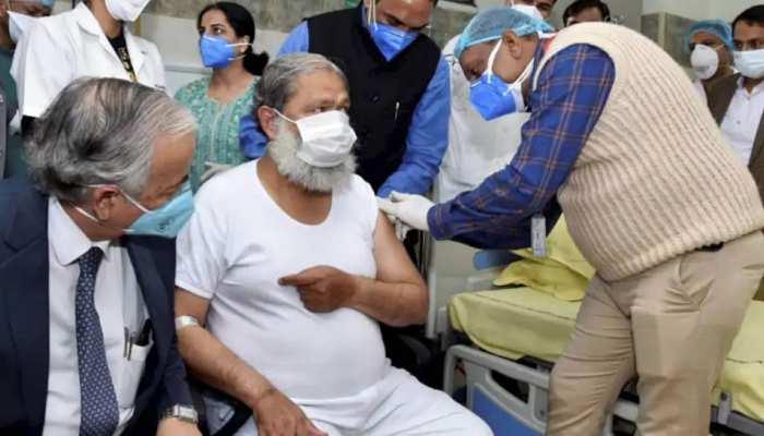 Corona Vaccine की डोज लेने वाले Anil Vij संक्रमित, उठे कई सवाल, जानें विशेषज्ञों की राय
