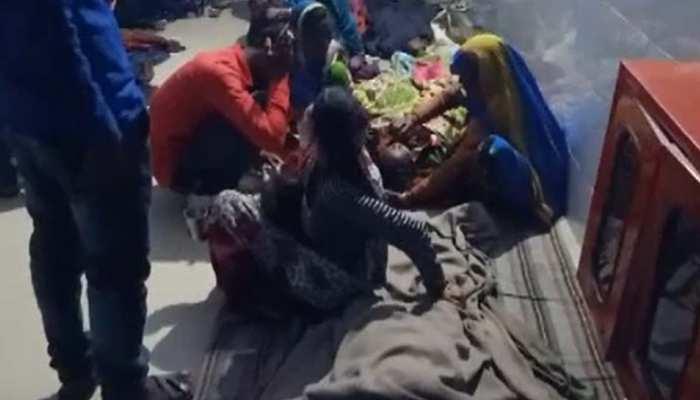 नसबंदी ऑपरेशन के बाद स्वास्थ्य विभाग ने खड़े किए हाथ, जमीन पर ठिठुरती रहीं महिलाएं