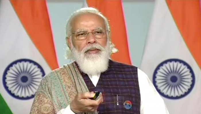 PM मोदी ने आगरा मेट्रो प्रोजेक्ट का रखा संगे बुनियाद, कहा- साहस से पूरे होते हैं ख्वाब