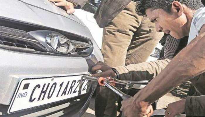 HSRP not mandatory in vehicle in uttar pradesh