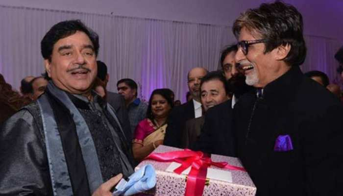 Shatrughan Sinha reavles about his relation with Amitabh Bachchan in biography Anything But Khamosh