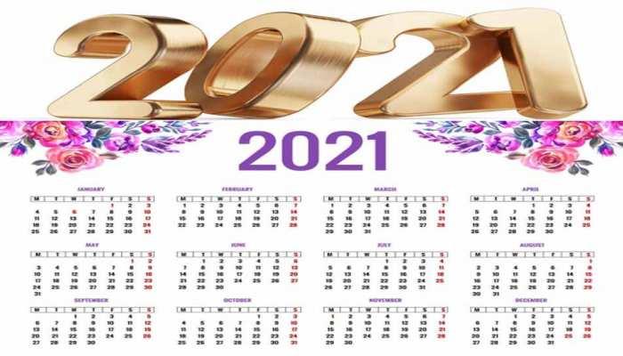छुट्टियों से भरा है साल 2021, SUNDAY को पड़ रही हैं सिर्फ दो सरकारी छुट्टियां, यहां देखें पूरा कैलेंडर