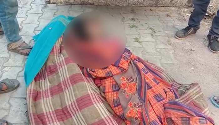 पति ने पहले पत्नी की हत्या की फिर दोनों आंखें फोड़ीं, शराब पीकर शव के बगल में सो गया