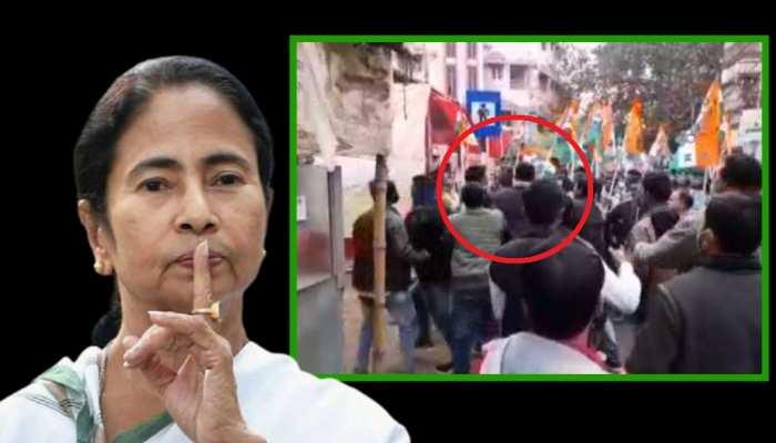 West Bengal: TMC कार्यकर्ताओं की गुंडागर्दी, BSF जवान को बनाया निशाना
