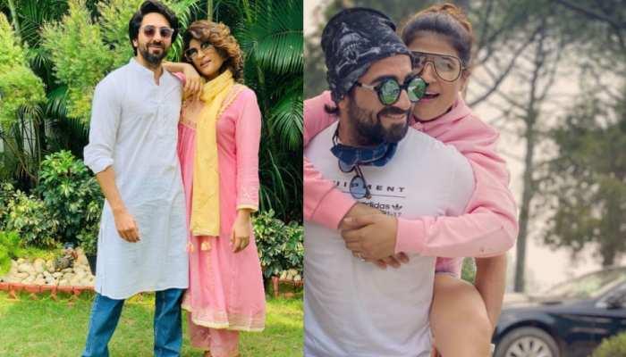 ayushmann khurranas wife tahira kashyap share photos with new family member peanut