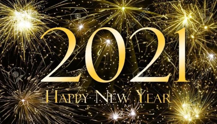 Happy New Year 2021 Wishes: इन हैप्पी न्यू ईयर मैसेज के साथ अपनों को दें नए साल 2021 की बधाई
