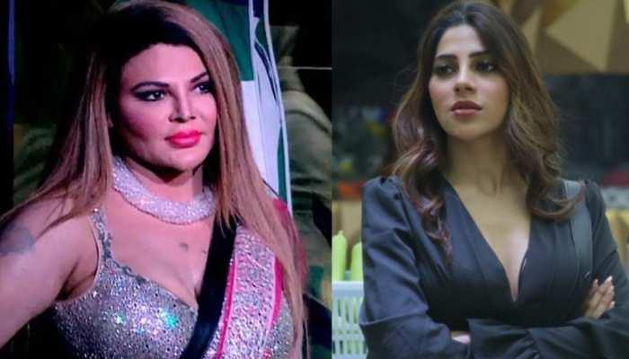 Bigg Boss 14: Rakhi Sawant ने Nikki Tamboli को बताया 'कैरेक्टरलेस', कहा- 'मर्दों को कोने में ले जाकर...'