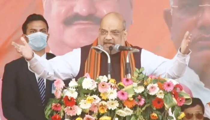 दो दिन के पश्चिम बंगाल दौरे पर अमित शाह, 200 सीटों के साथ सरकार बनाने का किया दावा