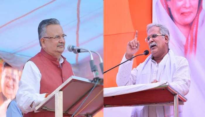 रमन सिंह को CM बघेल का जवाब- इन्हीं अफसरों के दम पर 15 साल राज किया, अब धमकाइए मत