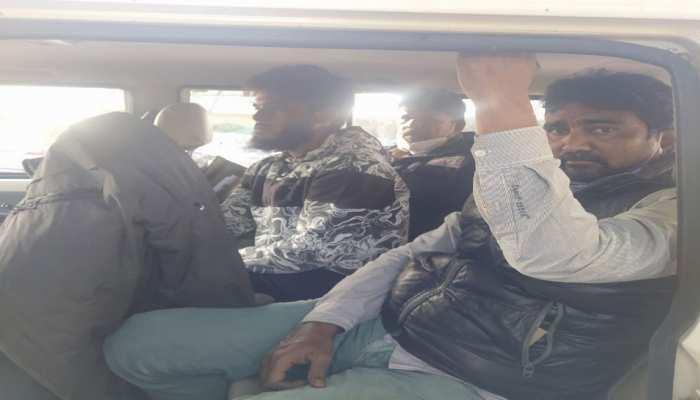 नीलगाय का शिकार करते तीन आरोपी गिरफ्तार, पूछताछ में हो सकता है बड़ा खुलासा