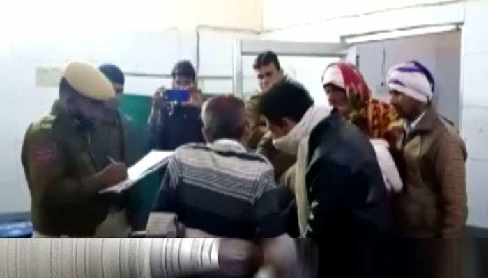 मंत्री प्रद्युम्न सिंह तोमर की एस्कॉर्ट में शामिल गाड़ी ने Bike को मारी टक्कर, महिला की मौत, 2 घायल