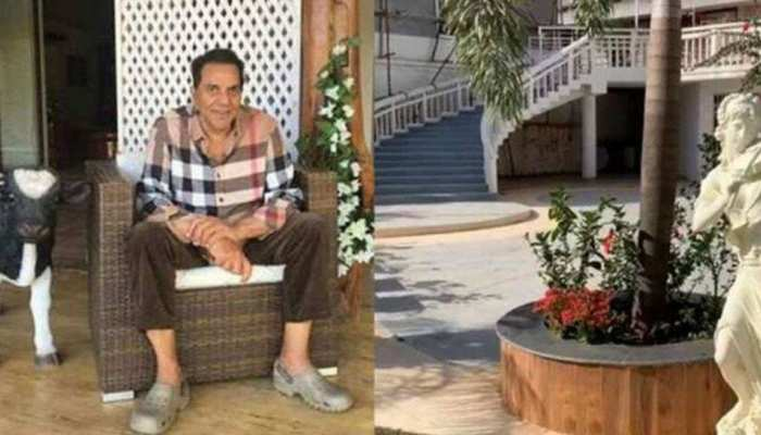 Dharmendra is spending time at his farm house see photos