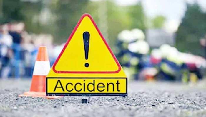 परिवहन विभाग के गार्ड ने ट्रक को रुकने का किया इशारा, चालक ने स्पीड बढ़ाकर मारी टक्कर
