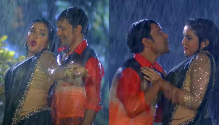 Bhojpuri Gana Video: जब बरसात में भीगे निरहुआ और आम्रपाली, Viral हुआ ये हॉट भोजपुरी गाना