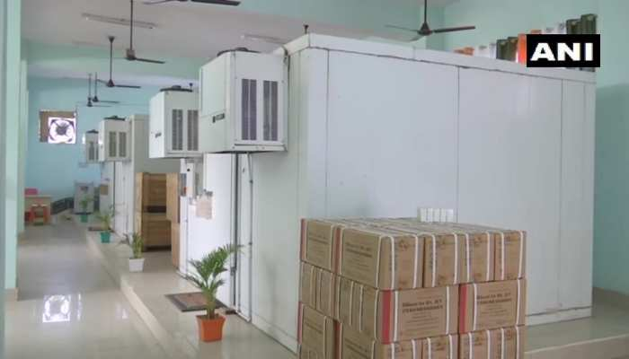 बिहार में Corona Vaccine को लेकर तैयारियां जोरों पर, NMCH में बनाया गया स्टोरेज सेंटर