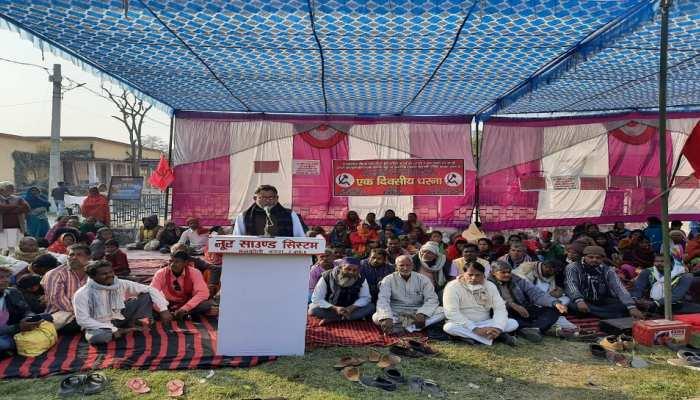 CPI-ML नेताओं ने PM मोदी-CM नीतीश का जलाया पुतला, पुलिस-प्रशासन पर लगाया यह आरोप...