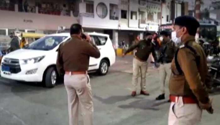 उज्जैन के बेगम बाग इलाके में हिंदू संगठन की रैली पर पथराव, कई गाड़ियों में तोड़फोड़