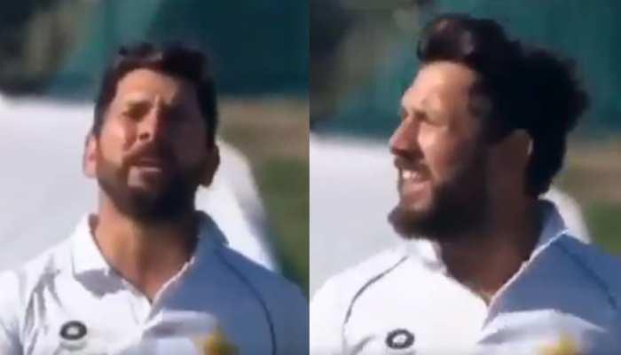 Pak गेंदबाज की शर्मनाक हरकत: आउट नहीं कर पाया तो कह दी यह बड़ी बात, Viral हुआ VIDEO